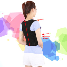 Unisex Back Shoulder Posture Corrector Support Straighten Brace Belt