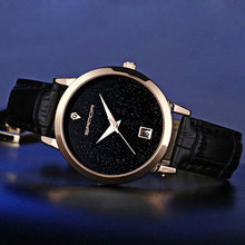 2017 Fashion Black Wrist Watch Women Watches Ladies Luxury Brand Famous Quartz Watch Female Clock Relogio Feminino Montre Femme