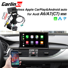 2019 автомобилей Apple CarPlay Android Auto Радио-дешифрователь для Audi A6 A7 (C7) MMI оригинальный Экран перевернутое изображение комплект для модернизации