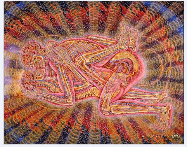 alex grey desktop artwork poster high quality picture print