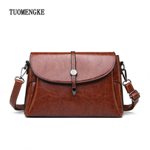 vintage small shoulder bag for women messenger bags for girls ladies quality retro PU leather handbag purse female crossbody bag