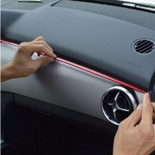 Для Mercedes Benz Glk200 Glk260 Glk300 2013 автомобиля наклейка на приборную панель автомобиля стиль 2 шт. комплект Алюминий из алюминиевого сплава