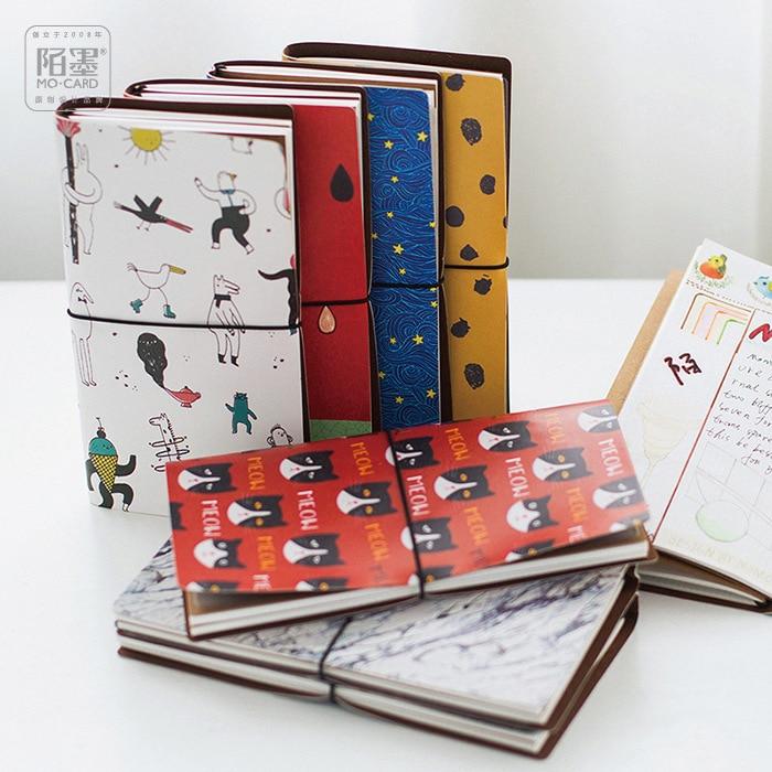 8 Stiluri japoneze Creative Kawaii Cute Cartoon DIY Notebook piele - Blocnotesuri și registre - Fotografie 2