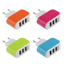 5V 3.1A Triple USB Port  Wall Home Travel AC Charger  Power Adapter  For  iPhone 4 4s 5 5s 5c 6 6 plus 6s 6s plus 7 Plus Adroid