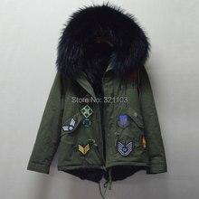 Fashion apparel outerwear wholesale fur collar parka