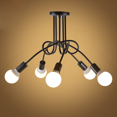 Vintage Ceiling Lights Ceiling Lighting Black Creative Personality Ceiling Lamps Fixtures Living Room Luminaria LustreVintage Ceiling Lights Ceiling Lighting Black Creative Personality Ceiling Lamps Fixtures Living Room Luminaria Lustre