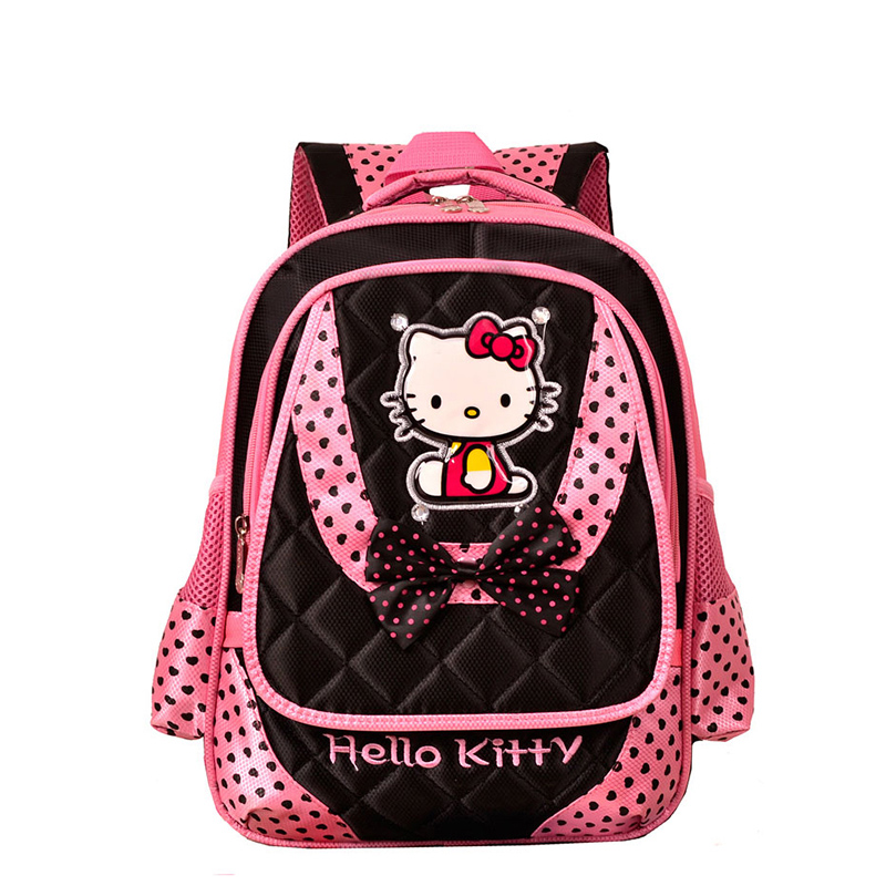 high quality hello kitty school bags for girls children