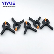 10PC 2inch DIY Tools Plastic Nylon Toggle Clamps For Woodworking Spring Clip  for Photo Studio Background Clamp Heavy