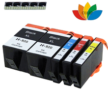 5pk Replacement 920 ink cartridge for Compatible HP 6000 6000se 6500 6500se 7000 7000a 7000se Printer new hot empty ciss for hp 920 hp920 cartridge with arc chips 6000 6500 7000 7500 free shipping hot sale ink jet printer