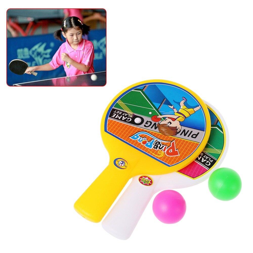 New Pingpong Ball Pingpong Racket Ballen Toy Sports Gifts Kids Toys Outdoor Fun