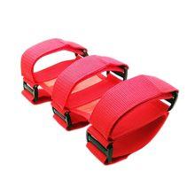 Mayitr rouge noir voiture arceau extincteur voiture support fixe voiture style pour voiture intérieur sécurité Nylon sangles
