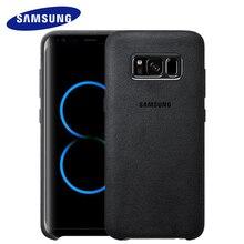 Samsung S8 S8 плюс 100% Оригинальный чехол для S8 G9550 9500 телефон оболочки замши все включено «анти- Осень кожаный чехол люкс S8