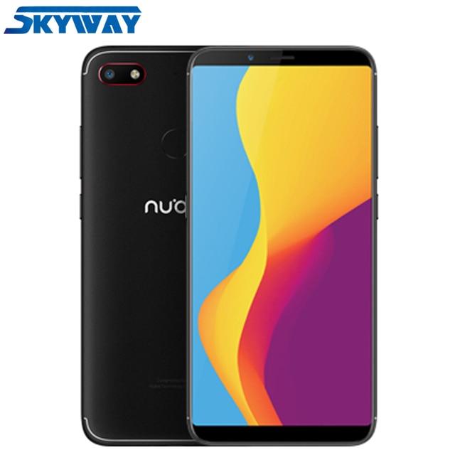 Original Nubia V18 4G LTE Snapdragon 625 Octa Core 4GB 64GB 6.01inch 2160X1080P Full Screen 4000mAh Battery Fingerprint ID