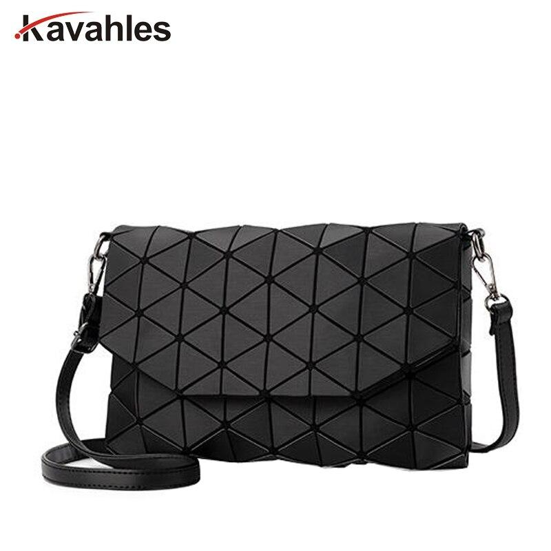 Matte Designer Women Evening Bag Shoulder Bags Girls Bao Bao Flap Handbag Fashion Geometric  Casual Clutch Messenger Bag PP-1148
