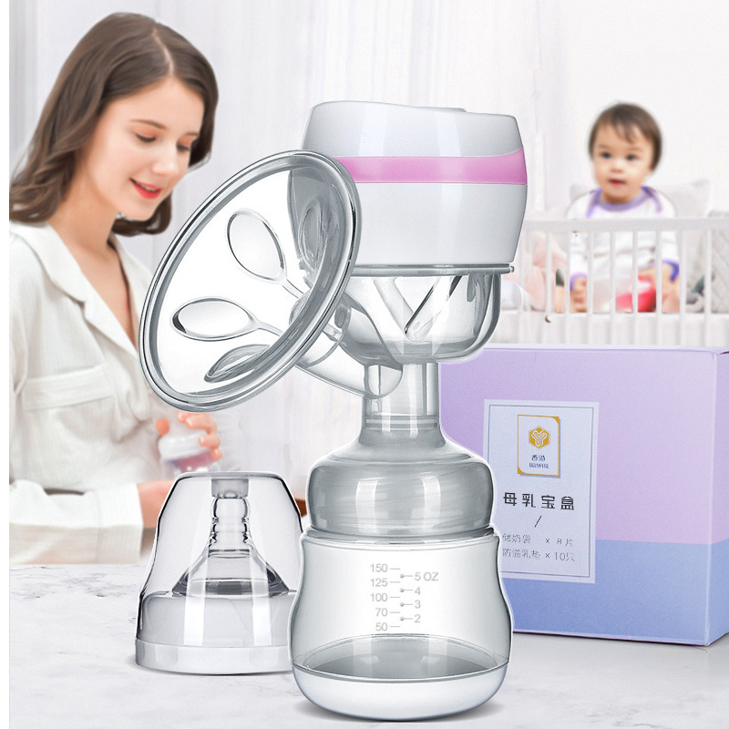 Mother Integrated Electric Breast Pump Infant USB BPA Free Powerful Breast Pumps Baby Breast Feeding Wireless Milk Collector