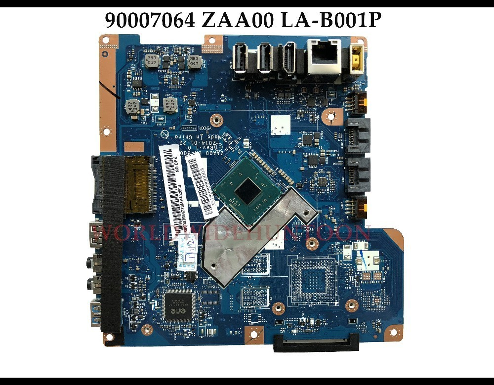 High quality FRU:90007064 for Lenovo C260 All In One Motherboard ZAA00 LA B001P SR1LP J1750 DDR3 100% Fully Tested-in Motherboards from Computer & Office    1
