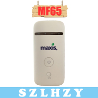 Unlocked MF65 3G Wireless Router HSPA+ 21.6Mbps 3G UMTS 2100MHz Mobile Pocket WIFI Broadband 3G SIM Card Mifi Router PK huawei