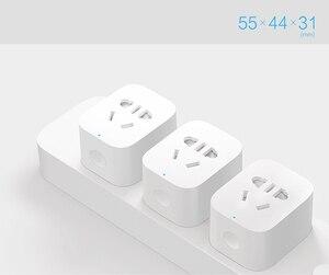Image 3 - 원래 xiao mi mi jia wifi 버전 스마트 소켓 스마트 홈 스위치 xiao mi 다기능 gateway 웨이와 mi home app