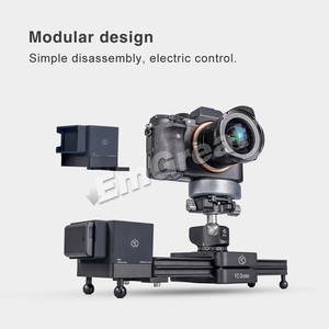 Image 5 - YC Onion Chocolate Motorized Camera Slider Aluminum Alloy Lightweight Portable for DSLR Mirrorless Camera Bluetooth APP Control