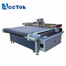 AccTek AKZ1515 factory price Digital CNC Cutting Machine Oscillating V-cut Knife Cutting Machine price