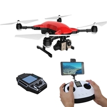 Simtoo libélula pro sígueme gps con 4 k cámara fpv rc quadcopter drone y smart watch rtf