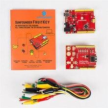 Palanca de Control de Teclado DIY Starter Kit SunFounder FruitKey USB Gamepad con Fruta Clip de Cocodrilo para Arduino uno R3 Leonardo