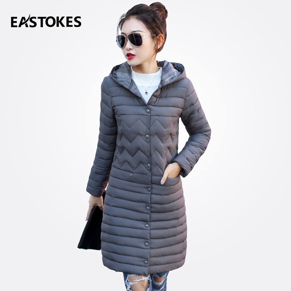 2017 Fashion Women Jackets Ladies Hooded Coats Lightweighted Female Outerwears Mid-Length Parkas Autumn Winter Women Parkas