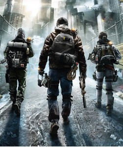The Division same style Backpack Bag package Dark area bag