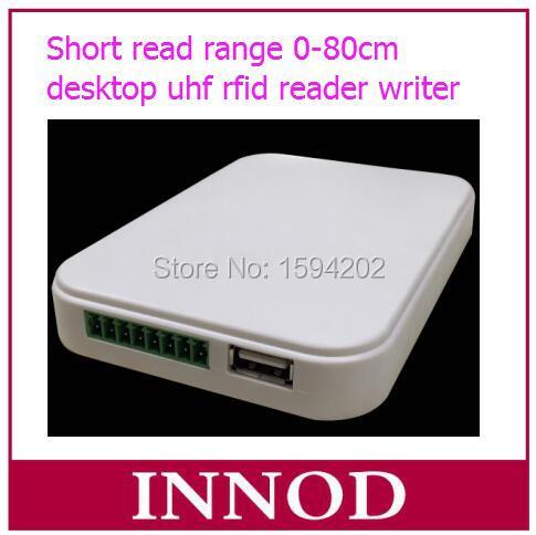 bilder für Neue ankunft 0-80 cm kurze lesereichweite günstige 860 Mhz-960 Mhz uhf-rfid-leser usb schriftsteller mit musterkarte uhf-tag aufkleber label