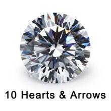 10 сердец и стрел вырезанные 4 ~ мм свободные cz качество 5a