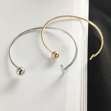 PINIYA New Design Gold Sliver Color Opening Bracelet Bangle Fashion Women Jewelry Open Bijoux Cuff Bangle pulseras mujer