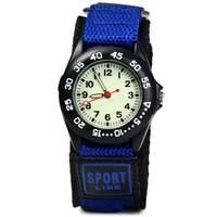 Students Sports Watches New Arrival Fabric Strap Climbing Military Quartz Wrist Watches Waterproof Strong Luminous Kids
