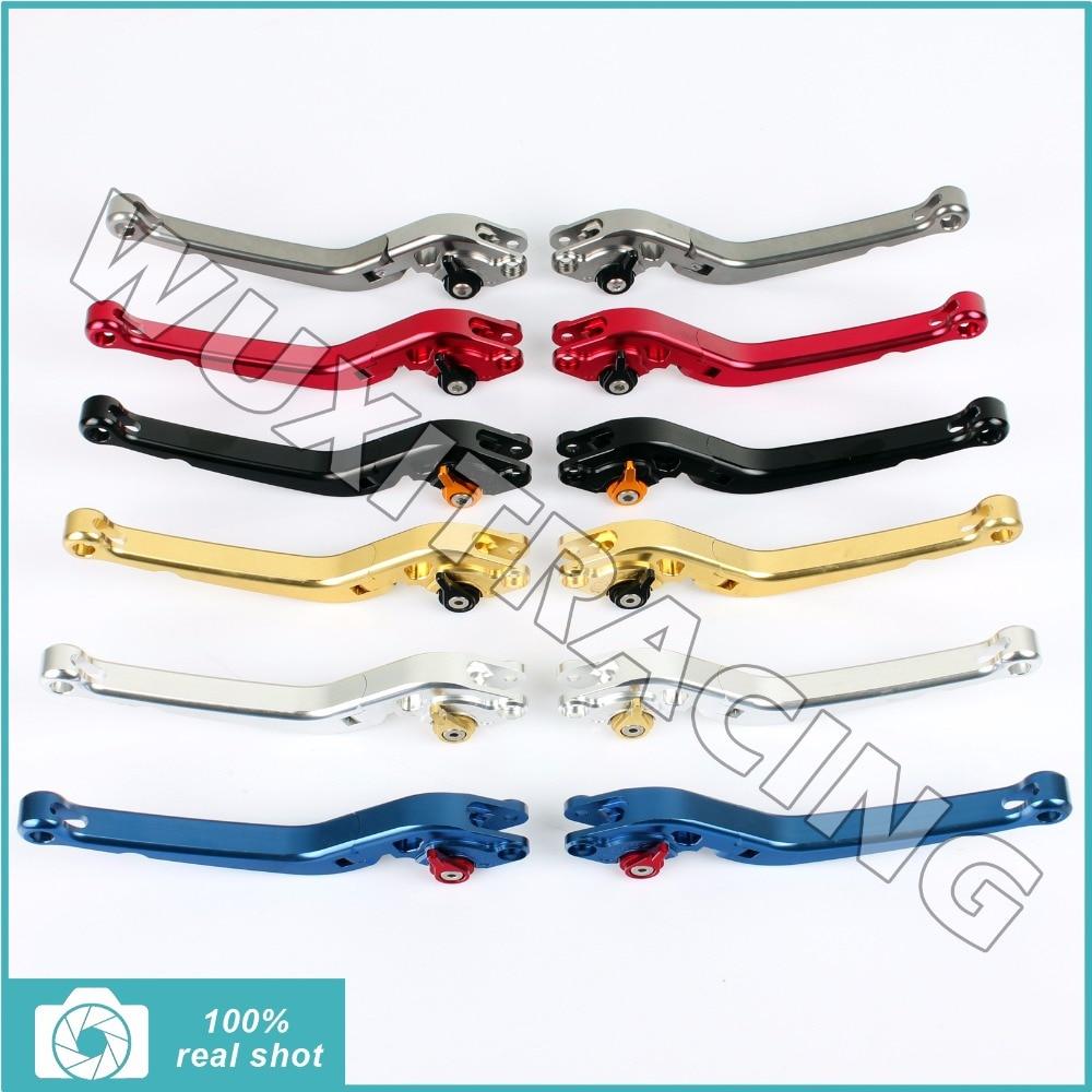 Billet Long Folding Brake Clutch Levers for TRIUMPH DAYTONA 955i 97-03 SPEED TRIPLE 955i SPRINT ST RS 955 TT 600 SPEED FOUR 600 meziere wp101b sbc billet elec w p