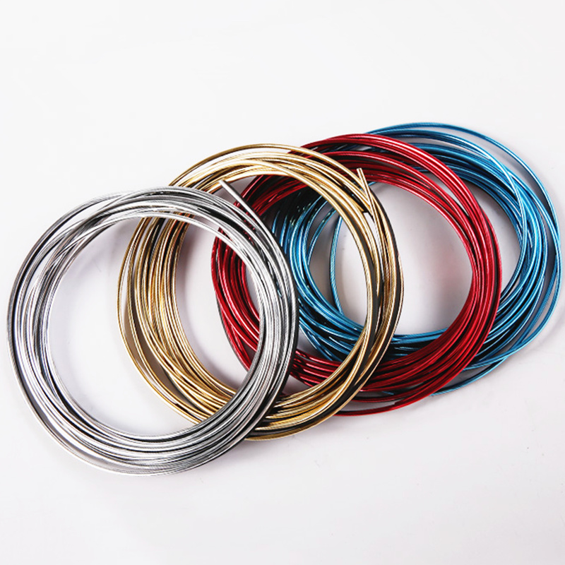 5m Car Interior Exterior Mouldings Trim Decorative Strip Line For Alfa Romeo 147 156 159 Alfetta Berlina Brera Mito Giulia Milan