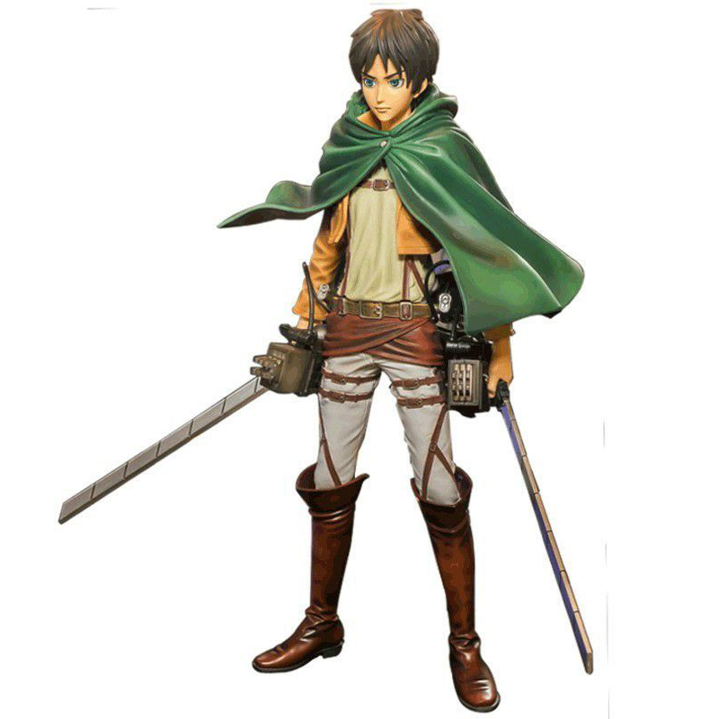 26cm Attack on Titan Anime Figure The Ellen Yeager With Maneuver Device Collectible Action Figure Model the sirens of titan