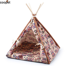 COOPET 2016 New Product Pet Dog House Foldable Pet Tent Puppy Cat Warm Soft Home Dog Bed Sleeping Bag For Small Dogs
