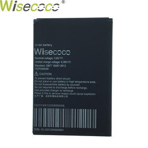 Wisecoco Treasure Collection BMM 542 3000mAh Battery For Black Fox BMM542 Phone Battery Replacement + Tracking Number(China)