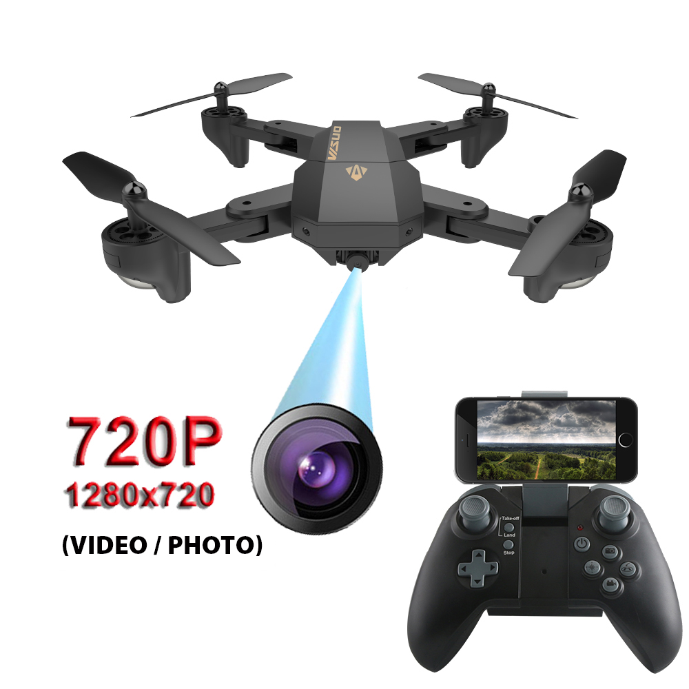 SMRC XS809HW drone with HD wifi camera 2MP wifi Angle UAV racing Helicopter remote control fpv quadcopter aircraft photography