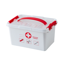 Large Medicine Kit Box Medical Boxes Plastic Container Multi-layer Storage Organizer First Aid Kit Outdoor Home Medicine Cabinet nes multi functional plastic storage household children s medicine multi layer first aid portable medicine box
