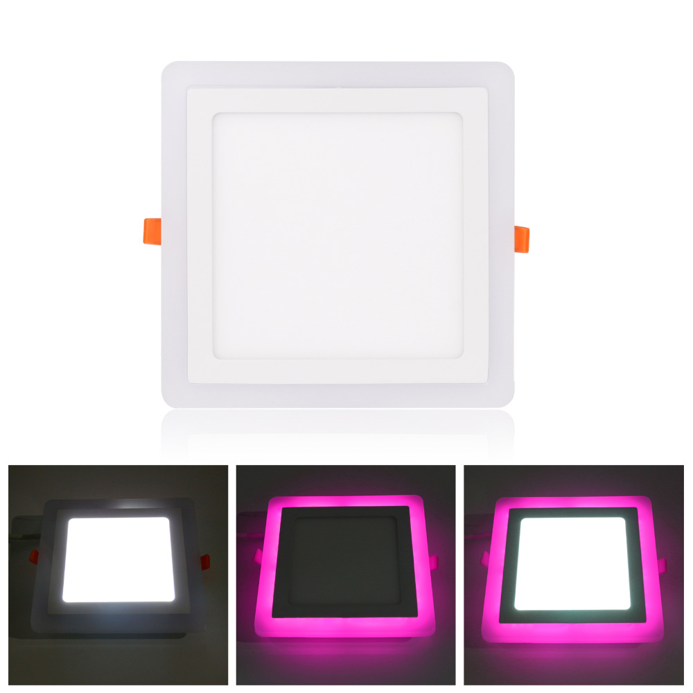cheapest Recessed Square Dimmable LED Downlights 7W9W12W COB LED Ceiling Lamp AC85-265V Warm Cold White LED Spot Lights Indoor Lighting