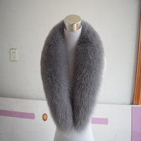 Scarf Top Fashion Promotion Women Adult Winter 90cm Long Real Fox Fur Collar Winter Cosplay Party With Cz Diamonds 2018 Fashion