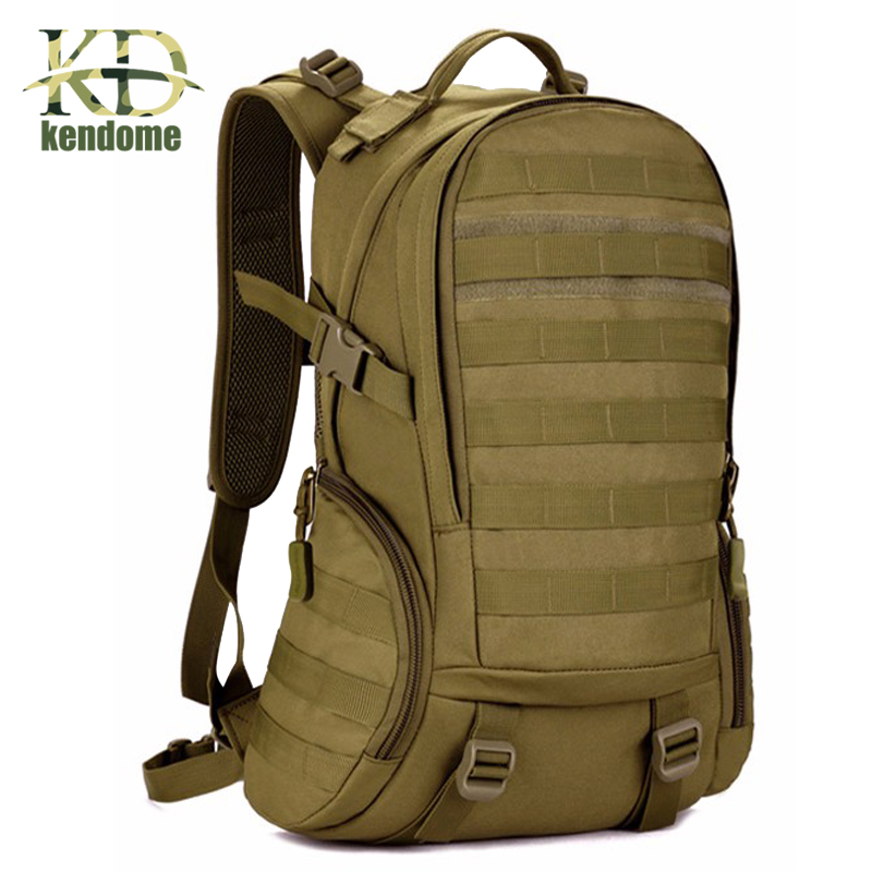 2018 Hot 35L Top Quality Waterproof Military Tactical Backpack Rucksacks Men Camouflage Outdoor Sports Bag Camping Hiking Bags 2017 hot sale men 50l military army bag men backpack high quality waterproof nylon laptop backpacks camouflage bags freeshipping