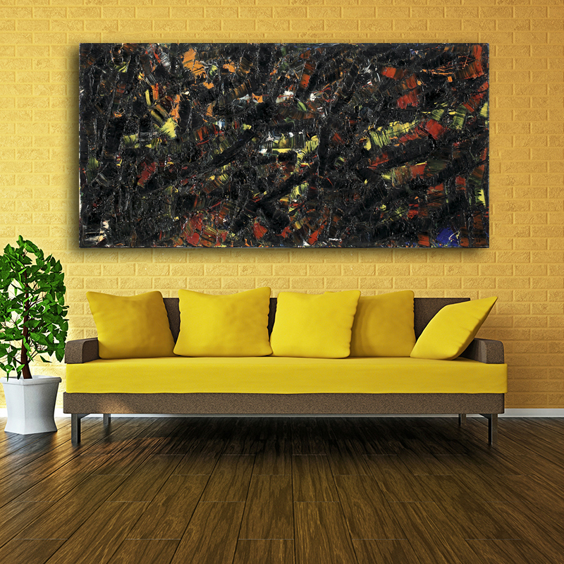 Single Contemporary Abstract Paintings Arshile Gorky Wall Art Prints ...