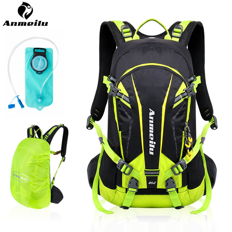 ANMEILU 20L Hydration Backpack Waterproof Sport Camping Hiking Climbing Cycling Backpack Camelback 2L Water Bladder Bag anmeilu 2l water bag 8l camelback hydration backpack ultralight sport camping climbing running cycling water bladder mochila