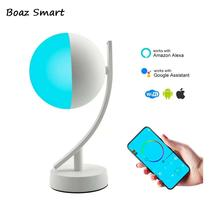 Led Smart Wifi Night Light 7W Table APP Remote Control Dimmable US EU Plug Amazon Alex Google Eye Protection Lamp Decor