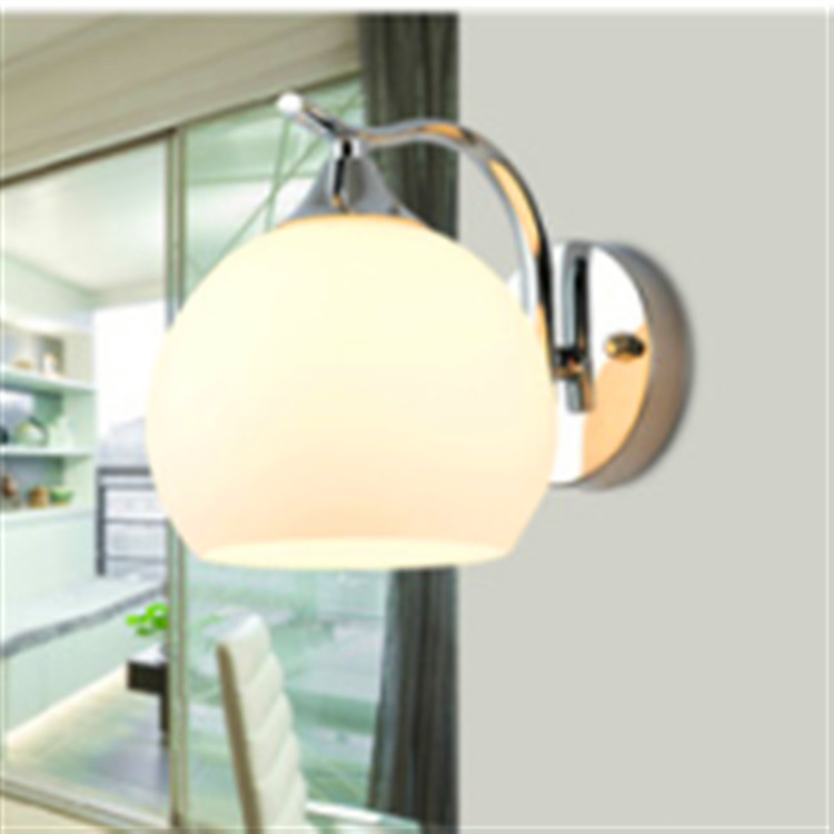 Chinese modern glass wall lamp is suitable for hotels and other places aisle bedroom living room project