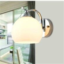 Chinesa moderna lâmpada de parede de vidro é adequado para hotéis e outros lugares corredor quarto projeto sala de estar