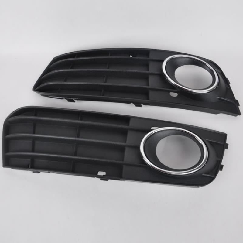 MAYITR 1 Pair Car Left & Right Side Front Bumper Grille Fog Light Cover Grill For Audi A4 A4L B8 2009 2010 2011 High Quality for audi a4 b8 s4 a4 allroad 2008 2009 2010 2011 2012 2013 2014 2015 car styling right side led fog light fog lamp
