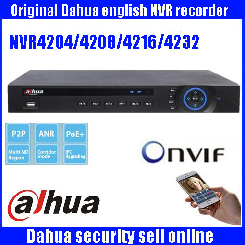 Original ENGLISH firmware DAHUA Network Video Recorder DH-NVR4204/DH-NVR4208/DH-NVR4216/DH-NVR4232  Network Video Recorder цена 2017