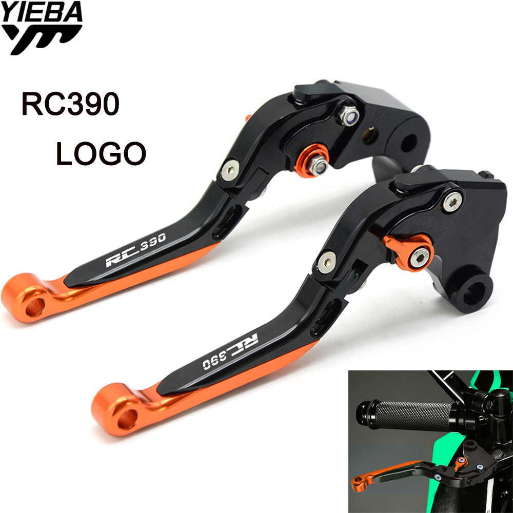 RC390 LOGO Motorcycle CNC Brake Handle Adjustable Brake Clutch Levers For KTM RC390 RC 390 390 DUKE DUKE 250 2013 2014 2015 2016 for ktm duke 390 rc390 2013 2017 duke 200 rc200 2014 2016 duke 200 rc125 2014 2017 motorcycle cnc aluminum brake clutch levers